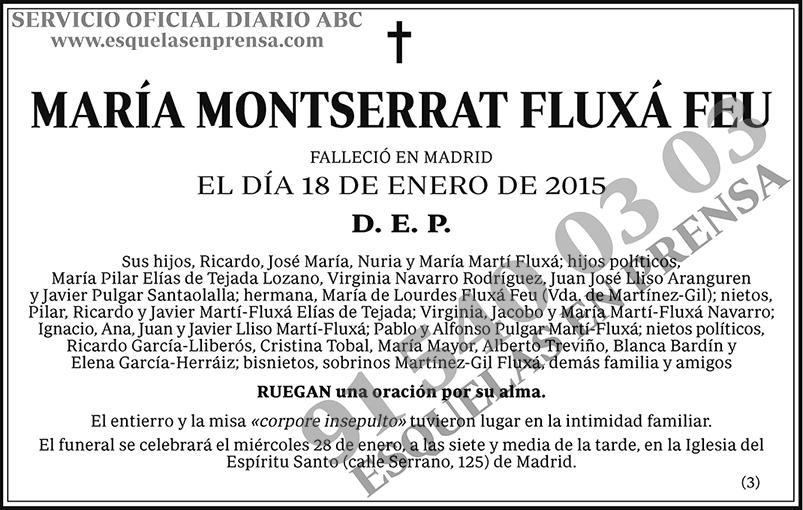 María Montserrat Fluxá Feu